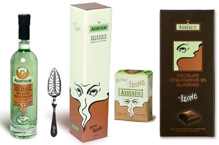 Absinthe packaging