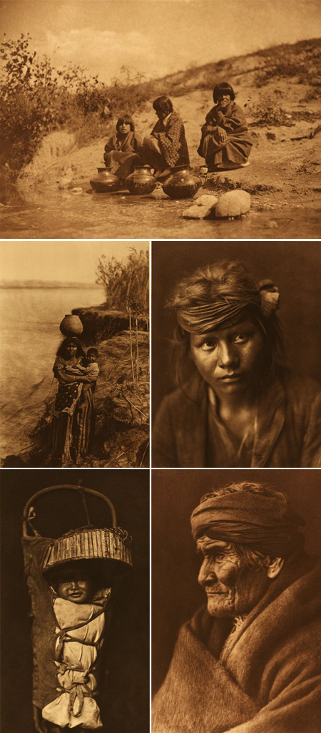Edward Curtis, pictures from the past