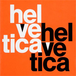 helvetica by Max Miedinger