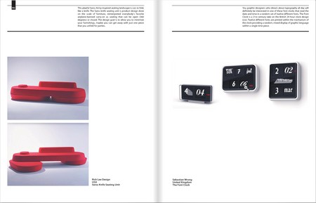 double-page of showroom magazine