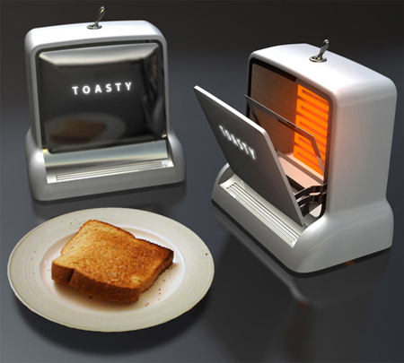 Toasty the toaster