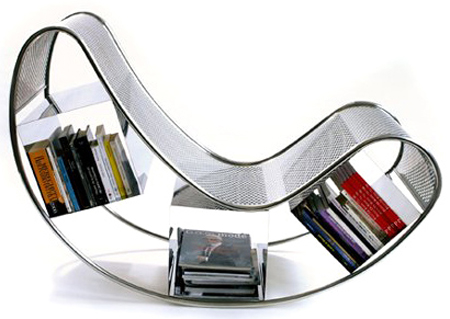 Books lovers, here is your chair!