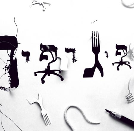 Oded Ezer hybrid typography