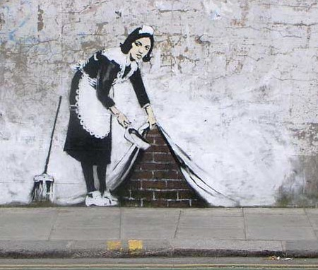 Banksy the rebel artist