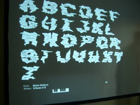 The typographic Synthesizer