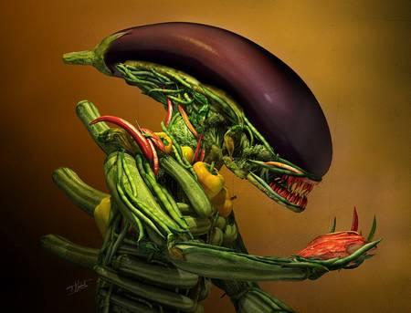 Veggie alien